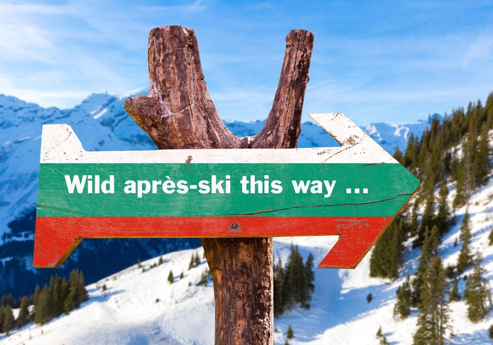 Ski Apres skiing